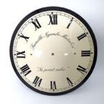 Klok-frans-emaille-rond-enamel-clock-willems